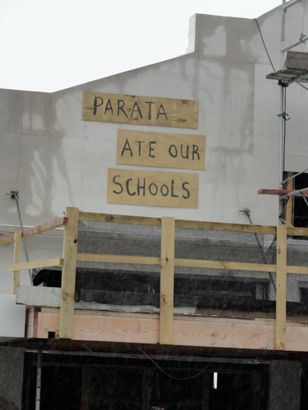 A political statement on the state of education